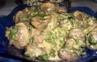 Луковый маринад с зеленью