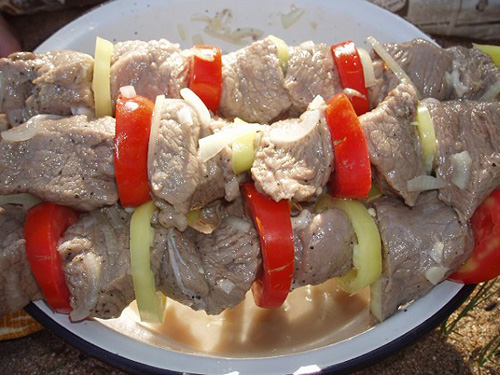 Маринад для баранины или свинины