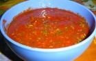 Маринад для шашлыка с томатным соком и кинзой