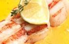 Морские гребешки в шафранном соусе