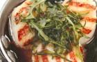 Морские гребешки в соусе марсала