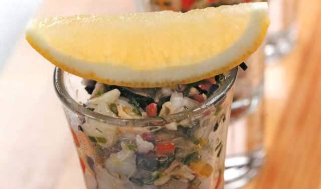 Морской коктейль в шотах