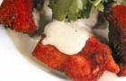 Наггетсы из индейки с сырным соусом