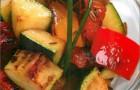 Овощной рататуй с курагой и специями