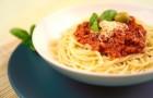 Овощной соус к спагетти