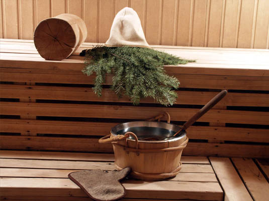 Оздоровительные процедуры в бане