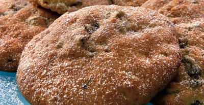 Печенье с кофе и черносливом