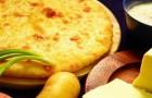 Пирог с картофелем и луком