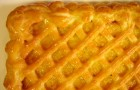 Пирог с курагой открытый