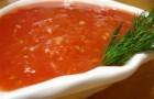 Подлива из помидоров и перца