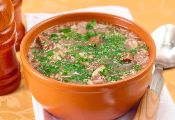 Постный суп-харчо