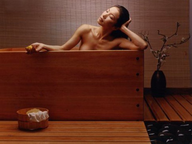 Прием ванн после бани
