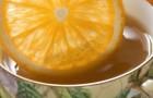 Пряный чай с медом и апельсиновым соком