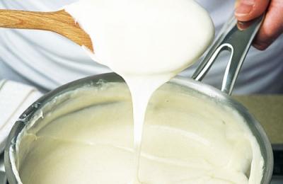 Раковый соус на белом соусе