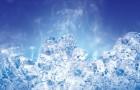 Растирание льдом после бани