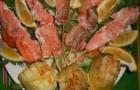 Шашлык из форели в пряном маринаде