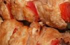 Шашлык из индейки с черемшой