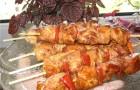 Шашлык из курицы «Домашний»