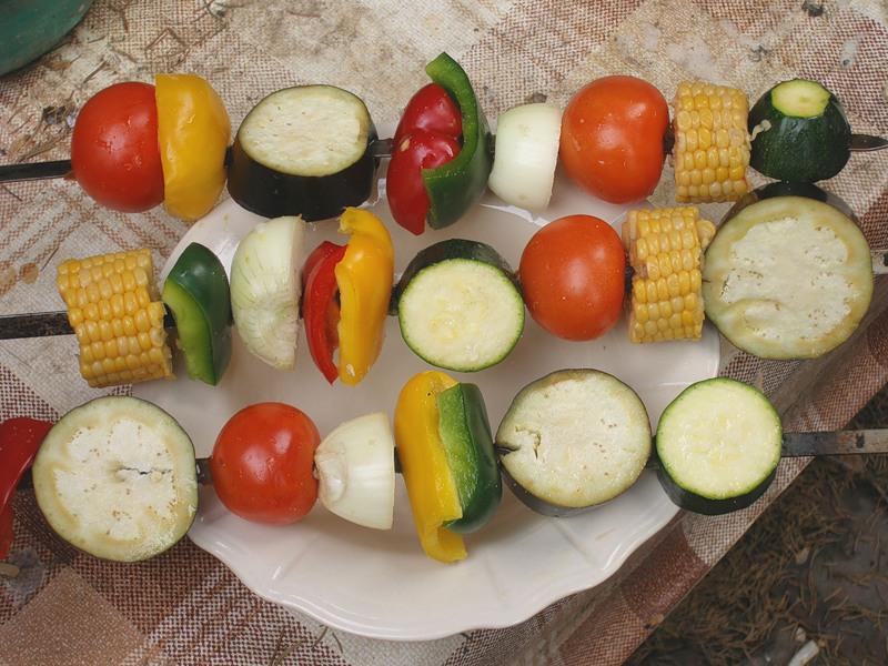 Шашлык вегетарианский