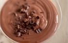 Шоколадный пудинг с тофу