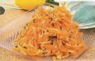 Салат из моркови с хреном