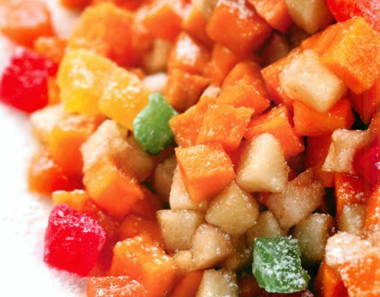 Салат из запеченной с яблоком тыквы