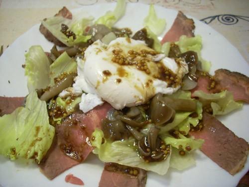 Салат с авокадо и миндалем