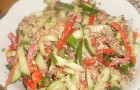 Салат с тунцом и сладким болгарским перцем