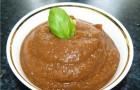 Соус-дип из баклажанов