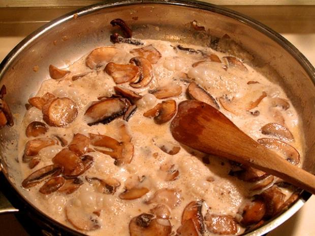 Соус-дип из маринованных или соленых грибов