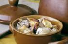 Соус из сушеных яблок