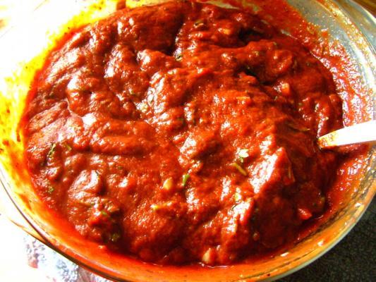 Соус острый с томатом