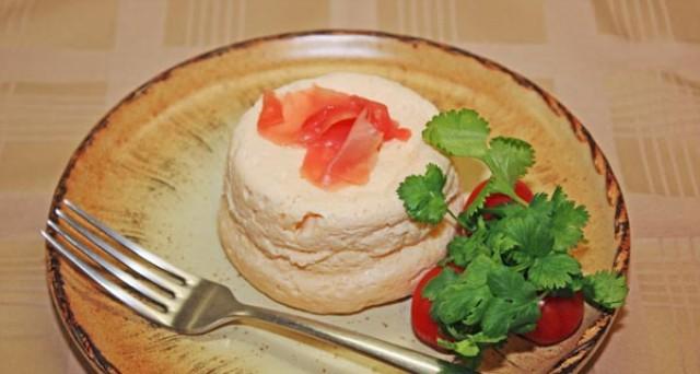 Суфле из лосося