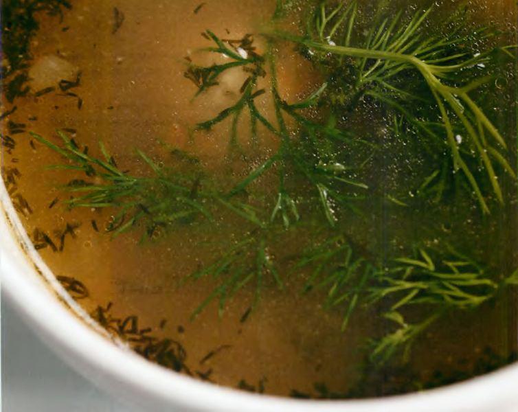 Суп «Золотой теленок»