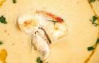 Суп из лука-порея с куриной грудкой