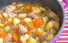 Суп из телятины с овощами