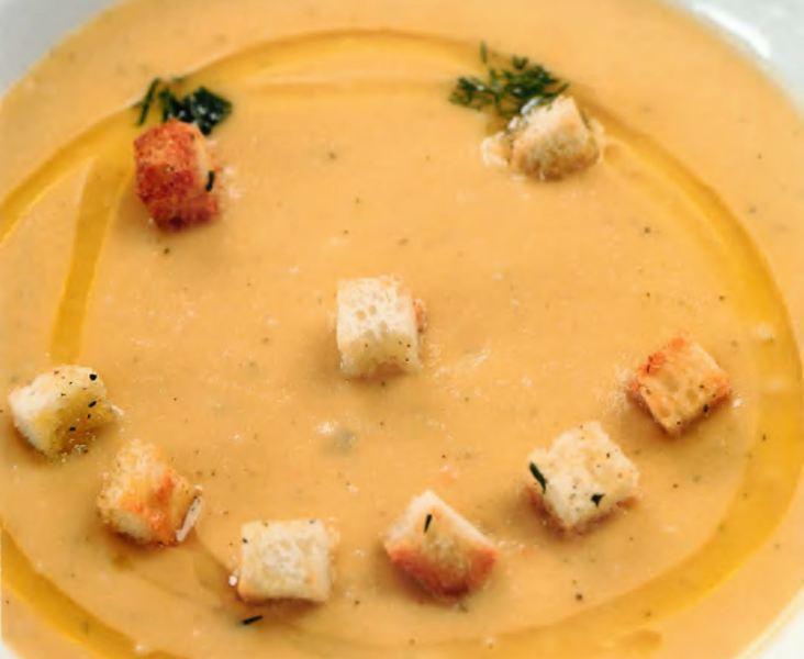 Суп-крем из кабачков