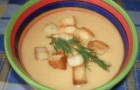 Суп-пюре из форели