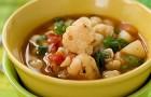 Суп с цветной или брюссельской капустой