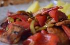 Свинина с болгарским перцем