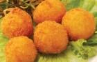 Сырная панировка с зеленью