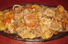 Томатный маринад с луком
