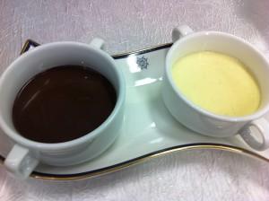 Ванильно-шоколадный соус