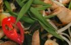 Жареные грибы в тайском стиле