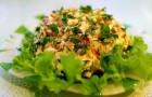 Жюльен из свежих овощей с крабом