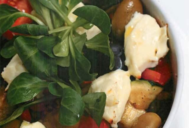 Запеченные овощи в греческом стиле