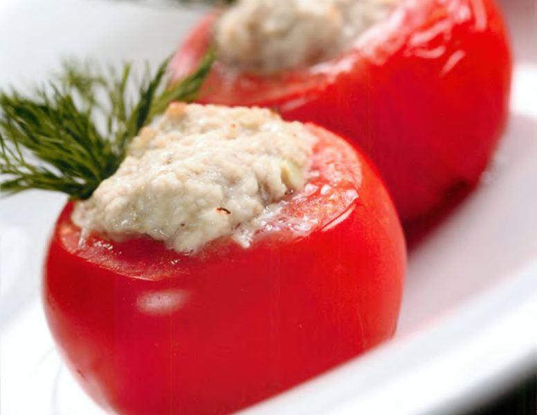 Запеченные помидоры с телячьим фаршем «А я томат!»