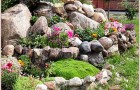 Каменистый сад на плоскости