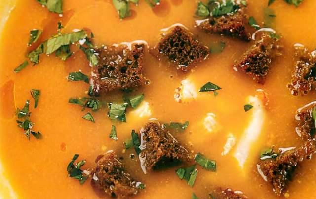 Крем-суп из куриной печени