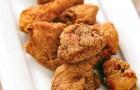 Маринованные куриные ломтики с соусом тартар